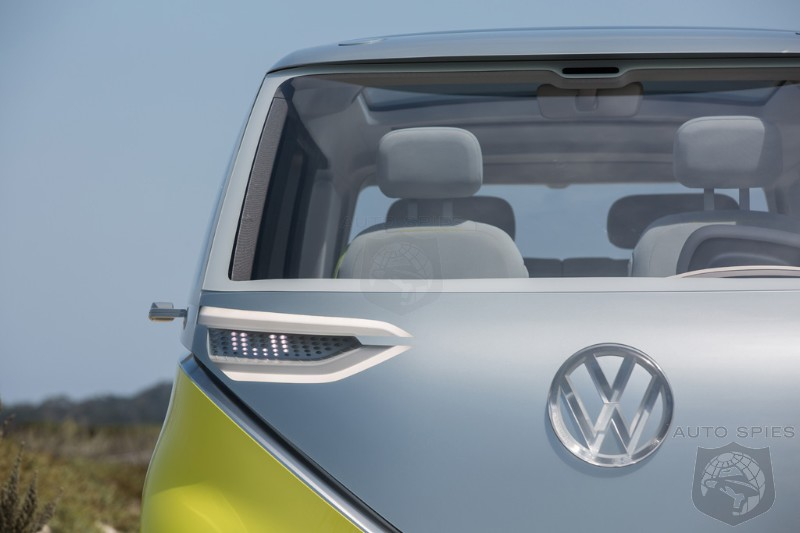 PEBBLE BEACH: The Bus Is Back In Town! Volkswagen Makes It OFFICIAL — The I.D. Buzz Is Given The GREEN