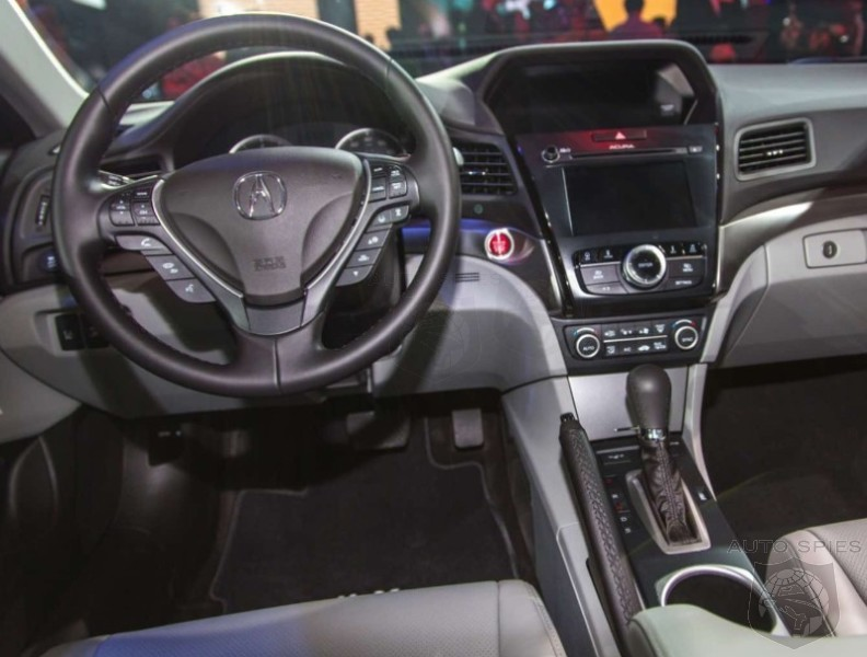 Laautoshow Does The 2016 Acura Ilx S Interior Hold Up