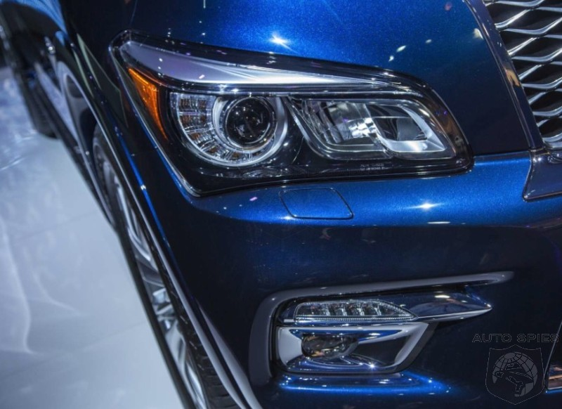 NEW YORK AUTO SHOW: REAL-LIFE Pics Of The 2015 Infiniti QX80