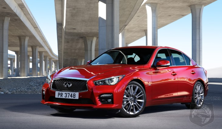 OFFICIAL: The Infiinti Q50 Red Sport 400 Starts At Nearly $49,000 — Does THIS Much HP At This $ Get YOUR Attention?