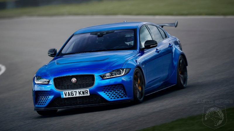 DRIVEN: So, Does The MOST INSANE Jaguar Ever Built Deliver On Its Promise? The XE SV Project 8, Reviewed...