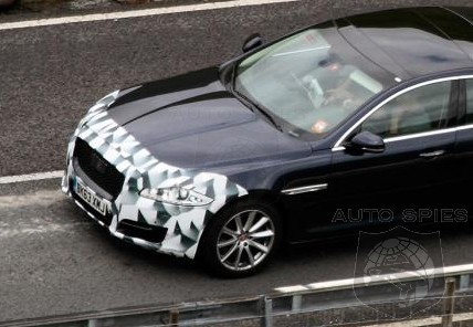 SPIED: Facelifted Jaguar XJ Snapped — New Details Seen Clearer Than Before