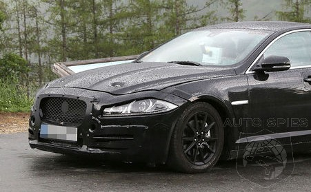 SPIED: Excuse Me, Are YOU The All-New Jaguar 3-Series Fighter?
