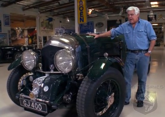 VIDEO: Jay Leno's 1930 Bentley That Isn't A 1930 Bentley, At All...