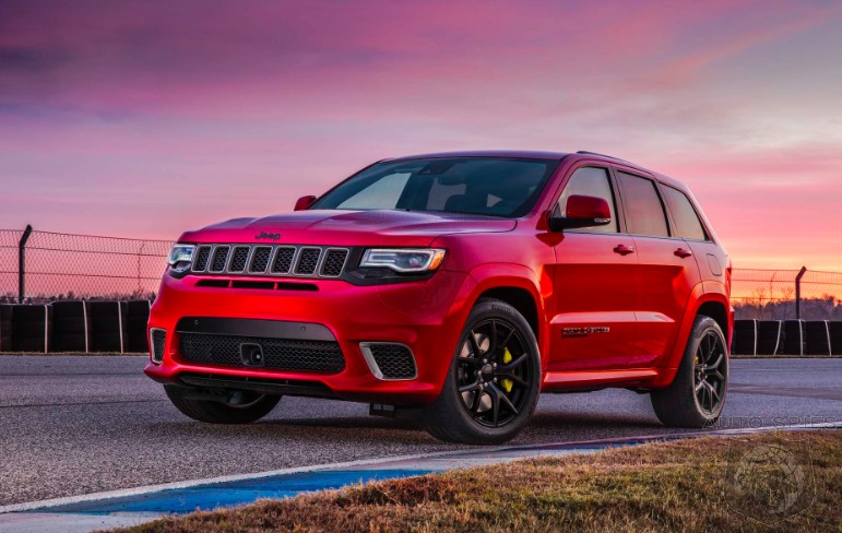 DRIVEN: What's It Like To Drive A Hellcat-powered Jeep Grand Cherokee Trackhawk?