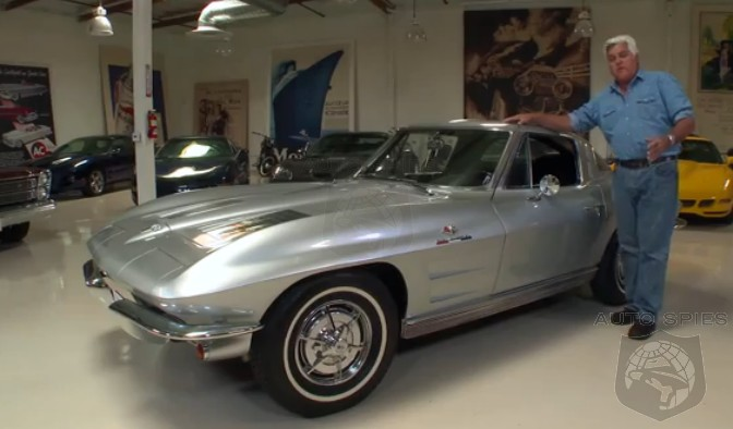 VIDEO: Jay Leno's Garage Features Some PROPER 'Merican Muscle That Has ONE Iconic Design Element