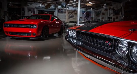 VIDEO: Jay Leno Drives The All-New Dodge Challenger SRT Hellcat, His Reaction Shouldn't Surprise YOU
