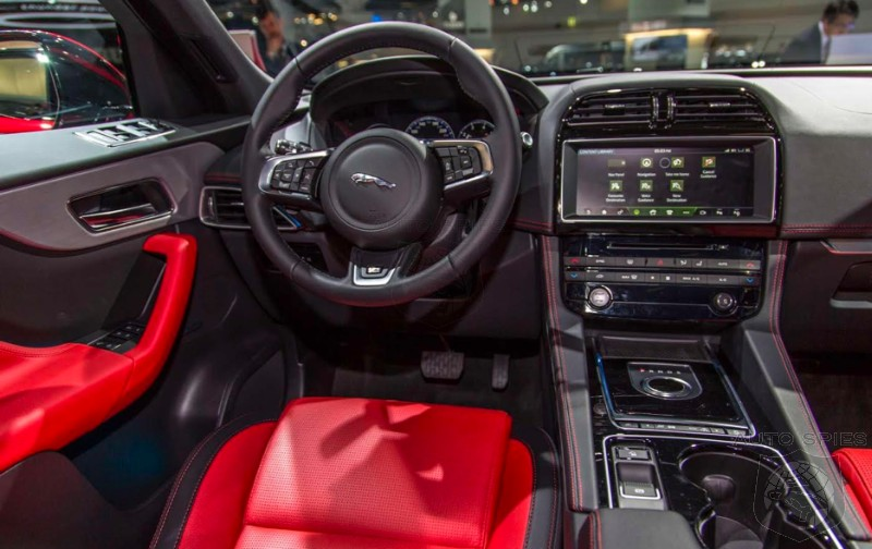 Iaa Everything You Want To Know About The 2017 Jaguar F Pace Best