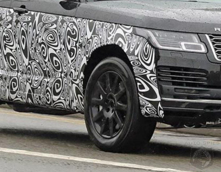SPIED! The All-new, 2022 Land Rover Range Rover Comes OUT From Hiding — FIRST Snaps Of The Test Mule!