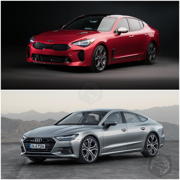 WHICH Car Is BETTER Looking The Allnew Kia Stinger OR The All - All audi