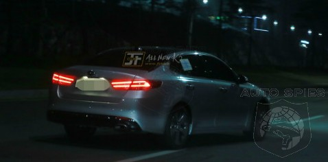 NYIAS SPIED On The STREET FIRST Pics Of The 2016 Kia Optima Snapped In The Wild At NIGHT