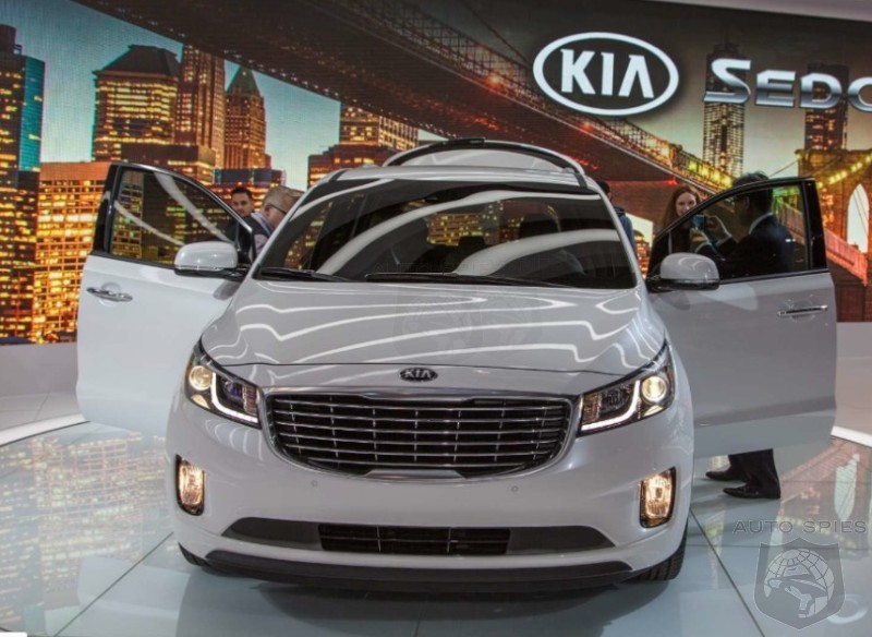 NEW YORK AUTO SHOW: Will The 2015 Kia Sedona Take A BITE Out Of Honda AND Toyota's Minivan Market Share?