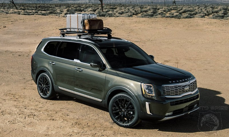RUMOR: The Agents Hear A BABY Kia Telluride Is In The Works