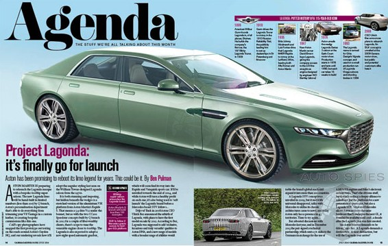 The Aston Martin EAGLE Has Landed — Lagonda Resurrected With A SPECIAL Sedan On The Way