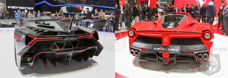GENEVA MOTOR SHOW: CAR WARS! WHICH Italian Stallion TOOK The Show? Lambo's $4M Veneno Or Ferrari's All-New Flagship?