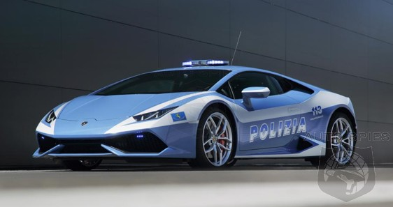 Lamborghini Makes Being An Italian Police Officer Interesting With Its Latest Gift