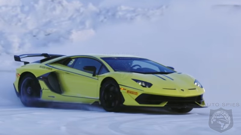 DRIVEN + VIDEO: So, What's It REALLY Like To Drive A Lamborghini Aventador SVJ On ICE?