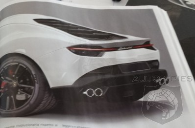 PARIS MOTOR SHOW LEAKED Has Lamborghini s All New Asterion Been UNBOXED Before Its BIG Debut
