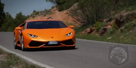 DRIVEN + VIDEO: What's Orange, Has A V10 And Is Driven Like An Animal?