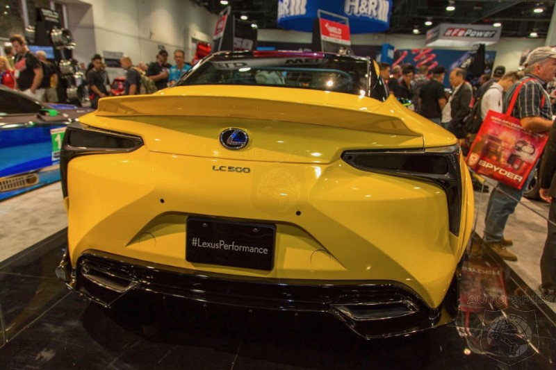 Sema The First Modified Lexus Lc500 Makes Its Big Debut In Yellow