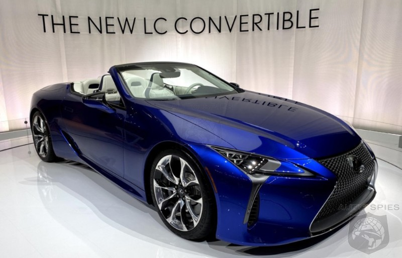 #LAAutoShow: Is The All-new Lexus LC500 Convertible A STUD or DUD?