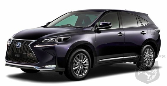 We Ve Just Got Word About A Surprise For The 2017 My Lexus Rx
