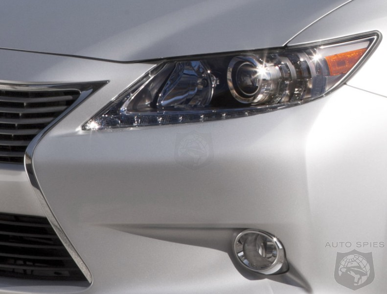 NEW YORK AUTO SHOW: Lexus TEASES The 2013 ES, But We've Already Seen The GOODS!