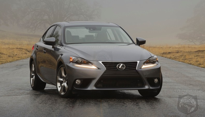 OFFICIAL: TRACK The Changes! FULL Details About The 2015 Lexus IS250 And IS350 HERE