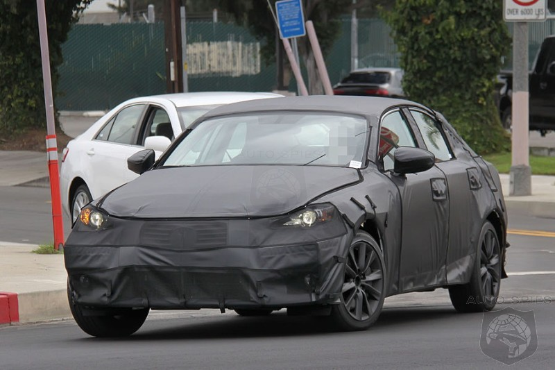 SPIED: MORE Photos Of The NEW Lexus IS As It Steps Out During Testing