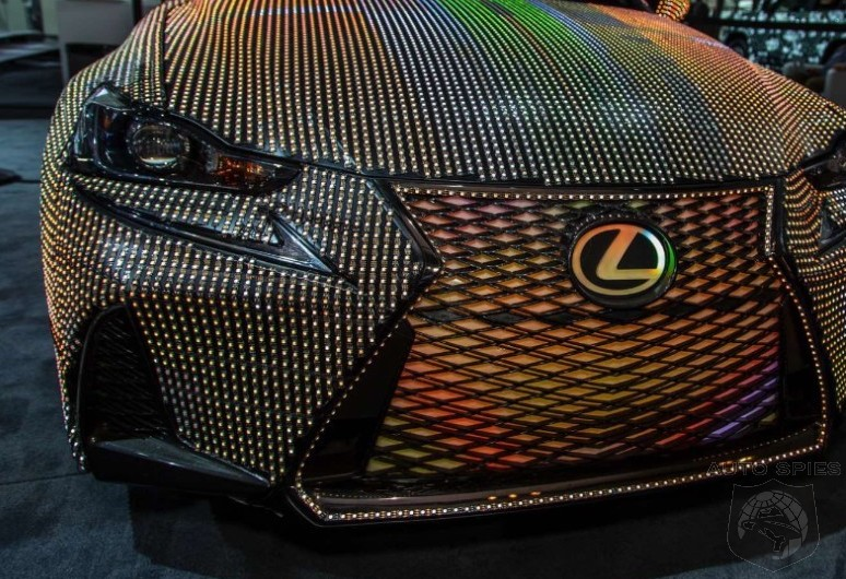 #NYIAS: Lexus IS LIT Is Next-Gen Car Art — This Is What 42,000 LEDs Looks Like Plugged In