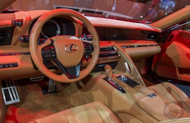 2019 Lexus Lc 500 Preview >> #NAIAS: Oh, My! And YOU Thought The Lexus LC 500 Was Stunning On The Outside... - AutoSpies Auto ...