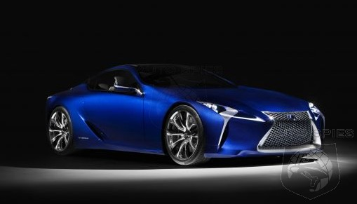 RUMOR: Lexus' All-New Flagship To Be Inspired By The LF-LC, Power Will Be MENTAL