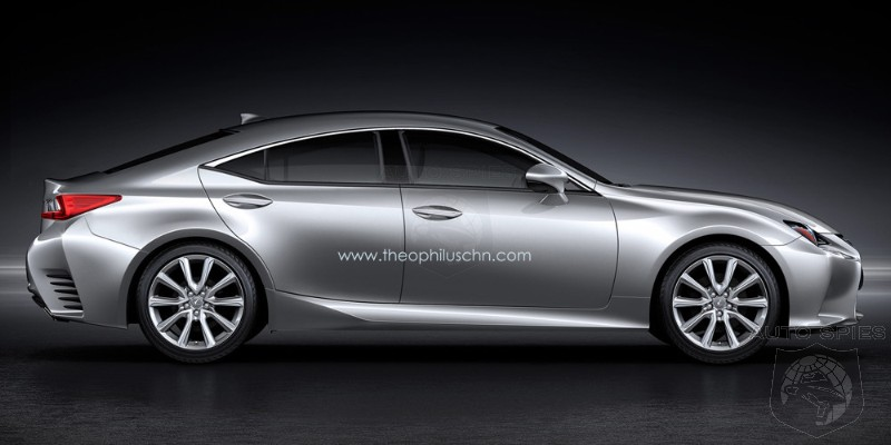 RENDERED SPECULATION: If Lexus Were To JUMP Into The Four-Door Coupe Game, Would THIS