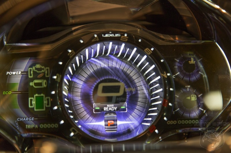AWESOME or AWFUL: The Agents Get The BEST Photo Of The Lexus LF-CC's Instrument Cluster - GIMMICKY or GREAT?
