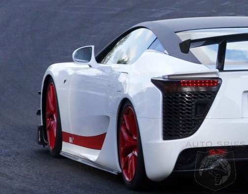 SPIED: Another Lexus LFA AD Makes An Appearance - Is It A ONE Off Or Something More? YOU Decide.