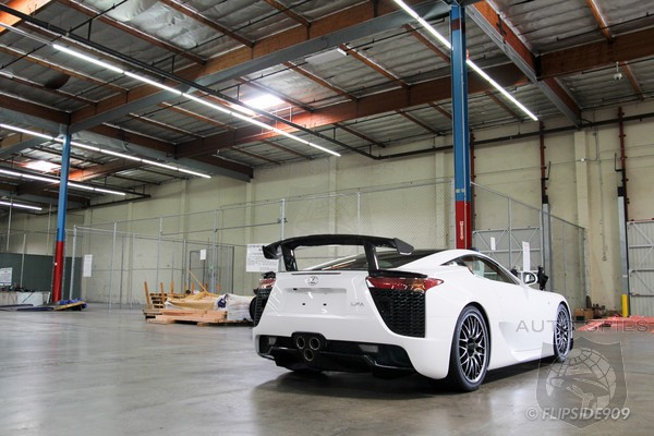 The Very FIRST Lexus LFA Nurburgring Package LANDS On US Soil - That's Not ALL, Though