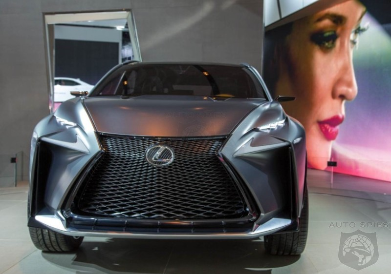 DETROIT AUTO SHOW: An Oldie But A Goodie Grows On Us — The Lexus LF-NX Turbo