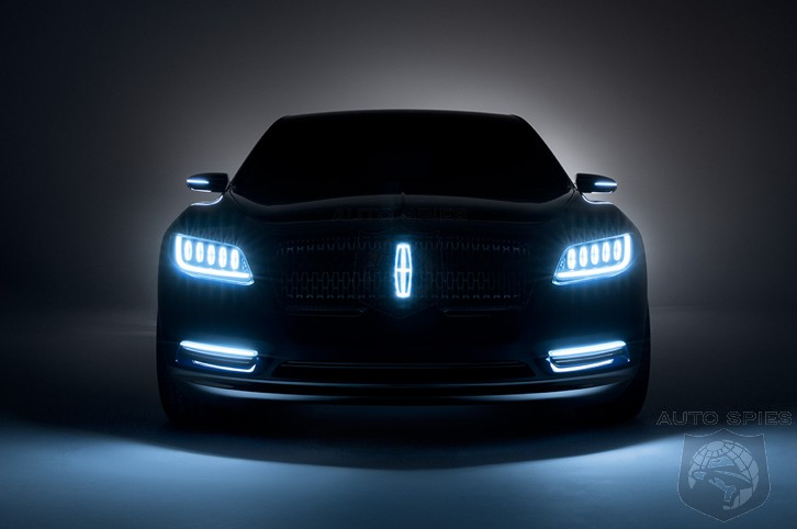 NAIAS Production Lincoln Continental Around The Corner  WHO Is