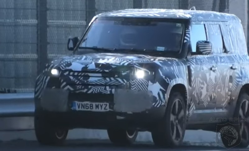SPIED + VIDEO: The Next-gen Land Rover Defender Gets Nabbed In One Of The MOST UNLIKELY Places...