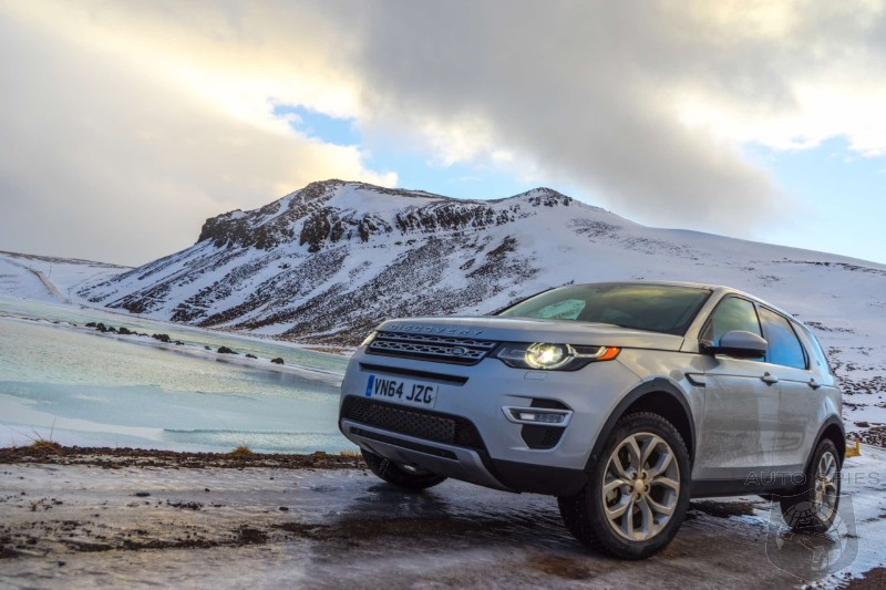 001 Takes YOU To Another WORLD For The Launch Of The All New 2015 Land Rover Discovery Sport