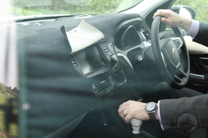 SPIED: Land Rover's All-New Offering's INTERIOR Gets Snapped For The FIRST Time