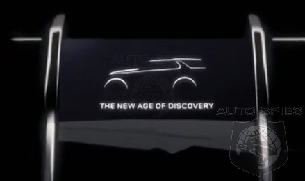 NEW YORK AUTO SHOW: TEASED! #ReadyToDiscover? Land Rover Gives Us A Glimpse Into Its Future