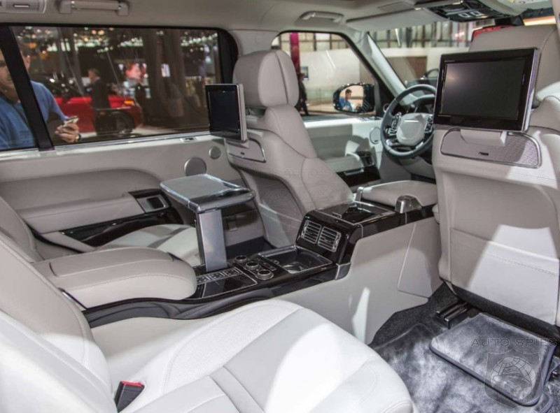 Nyias Get An Eye Full Of What The Land Rover Range Rover
