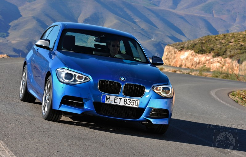 VIDEO: BMW's Hideous Little Monster, The M135i, Does The UNTHINKABLE On The 'Ring