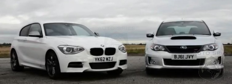 CAR WARS + VIDEO! How Does BMW's All-New M135i Shape Up Against The Subaru WRX STI?