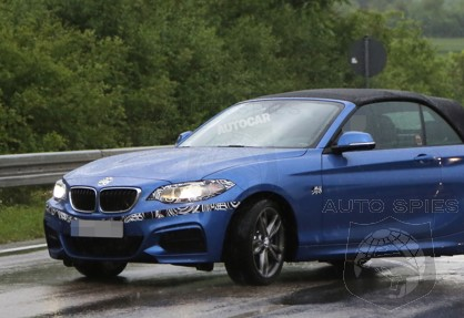 SPIED: NEW Shots Of BMW's All-New 2-Series Convertible Leaves LITTLE To The Imagination