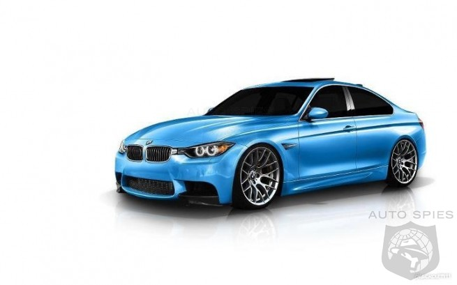 RENDERED SPECULATION: BMW's Next-Gen M3/M4 COUPE Comes Into Focus