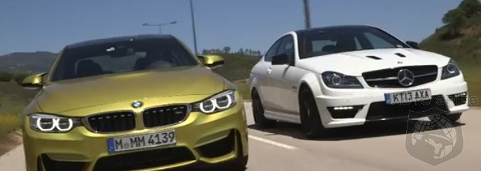CAR WARS! BMW's All-New M4 vs. Mercedes-Benz C63 AMG — Precision OR Power, Pick YOUR Poison