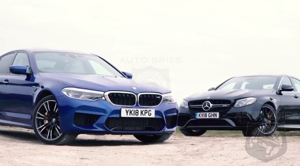 CAR WARS! Super Sport Sedan Showdown: WHICH Would YOU Rather? BMW M5 vs. Mercedes-AMG E63 S?