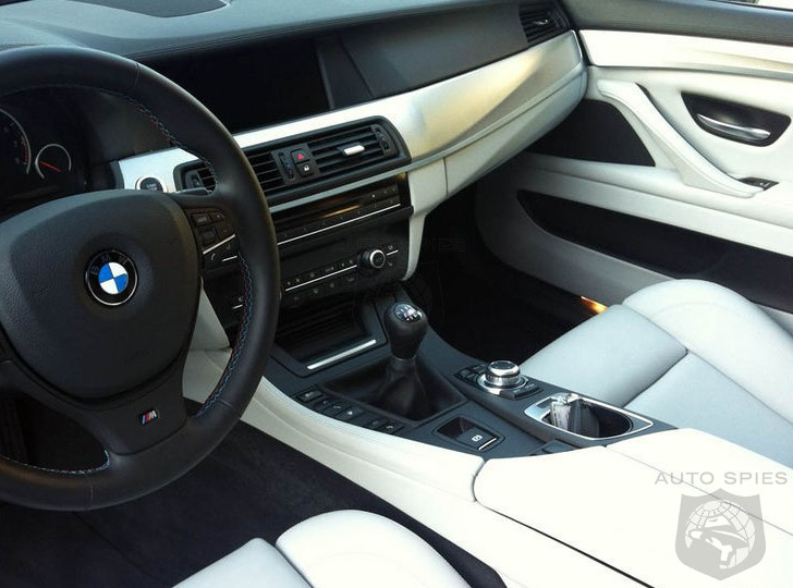 SPIED: All DOUBT Can Be Put Aside - The FIRST 2013 BMW M5 WITH A Manual 'Box